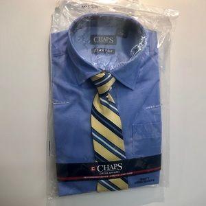 🆕 CHAPS boys package shirt & tie set
